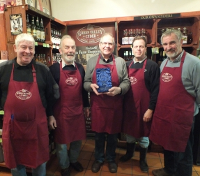 National award for Devon cider retailer